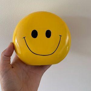 SMILEY FACE COIN BANK